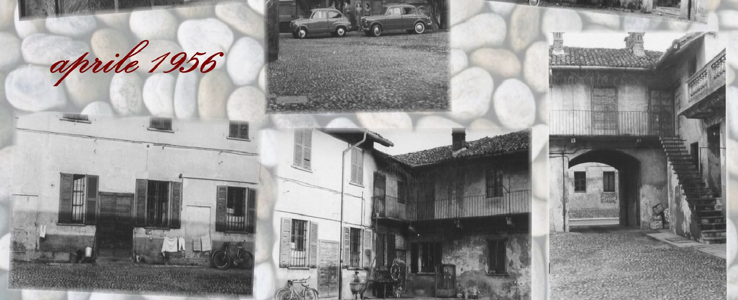 photos illustrating the Antica Corte Milanese in 1956