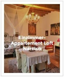 Bild Einzimmer-Appartement Loft Narciso im Antica Corte Milanese